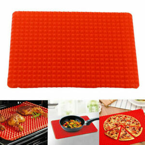 Silicone-Pyramid-Pan-Tray-Kitchen-Baking-Mat-For-Healthy-Y0Y1-Stic-Coo-Non-D4L3