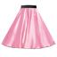 Girls-SATIN-Rock-n-Roll-Skirt-UK-1950s-Costume-Grease-Fancy-dress-ROCKABILLY thumbnail 9