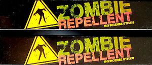 2x15g zombie repellent sandalwood champa devils garden incense