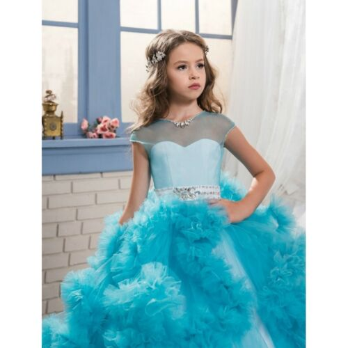 Fashion Clothes Shoes Accessories Girls Formal Occasion Kinder Madchen Lang Kommunionkleider Blumenmadchen Hochzeit Abendkleid Ballkleid Fashion Ojas Co Th