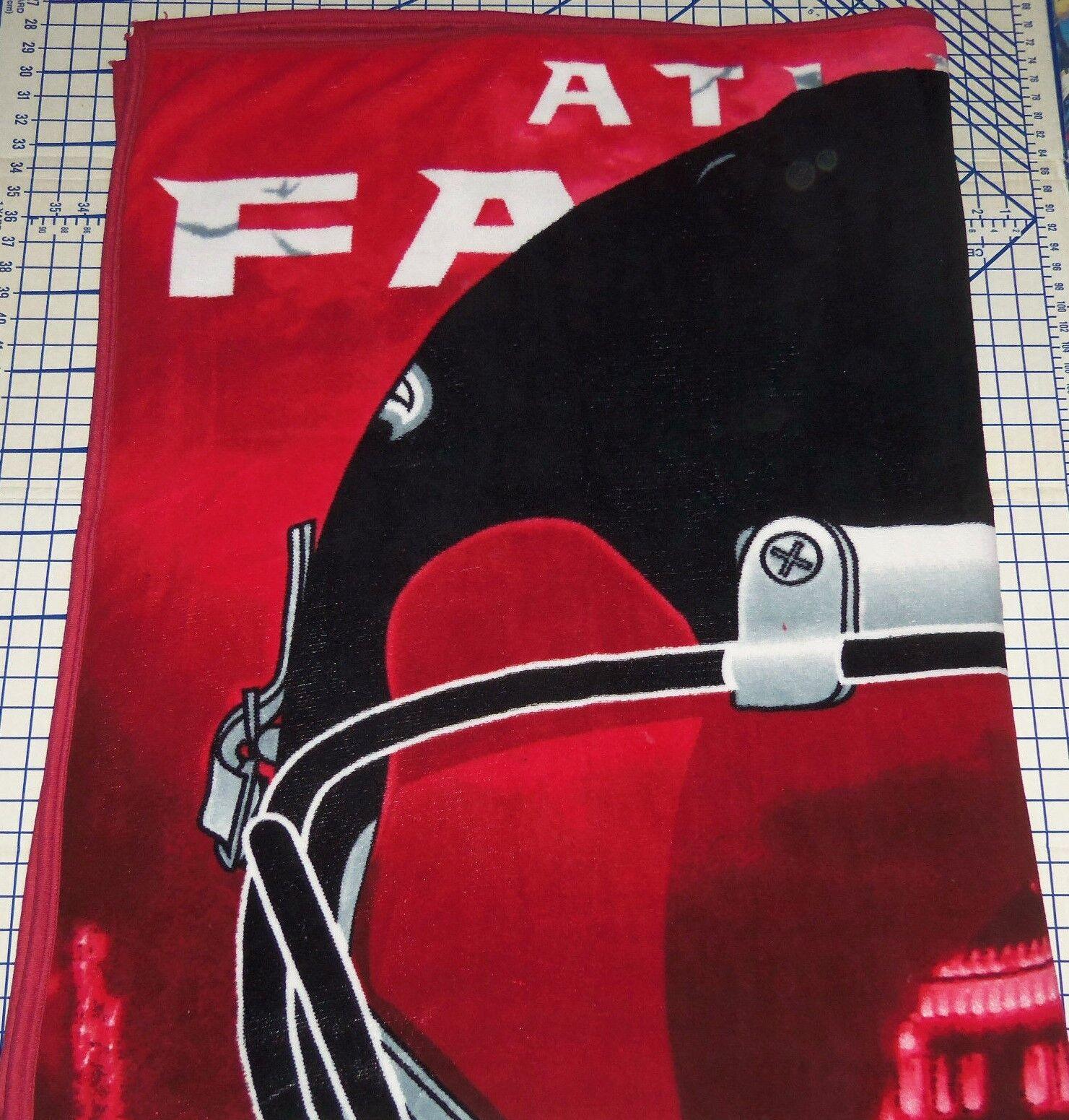 Atlanta Falcons Manta Lana Fuzzy Cozy Completa Tamaño Queen Nuevo