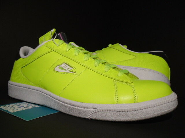 NIKE DUNK Tenis Clásico SB SUPREME voltios Neon Amarillo blancoo Negro 556045-710 10.5