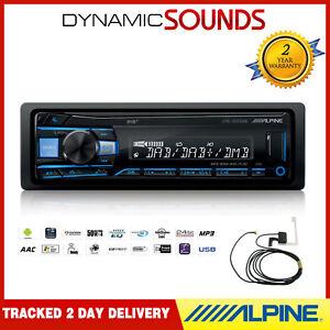 Alpine-UTE-202DAB-Digital-Media-Receiver-Aux-USB-DAB-Android-iPhone-Aerial