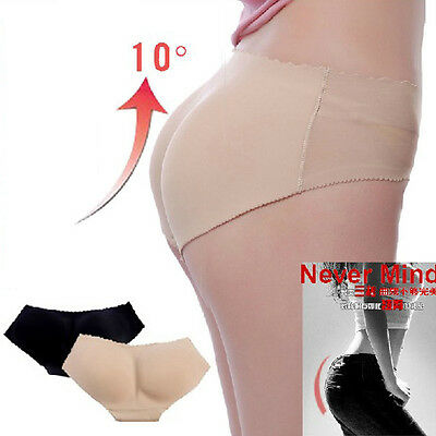 Women Ladies Padded Knickers Buttock Butt Bum Hip Shaper Enhancer Underpants