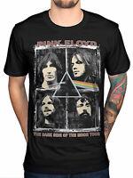 Official Pink Floyd Dark Side Of The Moon Tour T-Shirt Rock Tour Merch Punk
