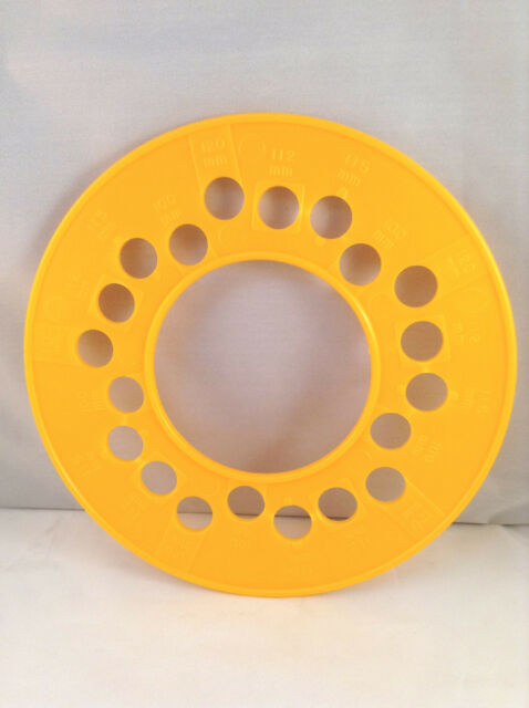 Wheel Axle Bolt Pattern Guage Template 5 bolt Metric