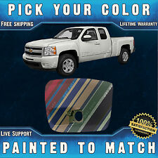 Painted To Match Drivers Front Lh End Cap For 2007 2013 Chevy Silverado Truck Fits 2013 Silverado 1500