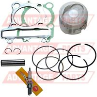 Yamaha Moto-4 250 Yfm250 Piston Rings Gasket Spark Plug Set Kit 1989-1991