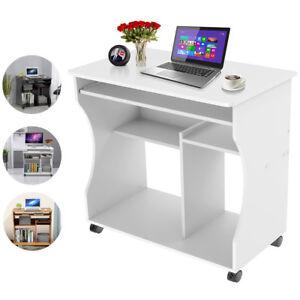 Computertisch Schreibtisch Arbeitstisch Mobiler Bürotisch Pc Tisch