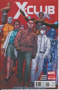X-Club #5 (2012) NM, Fight with Nazis, Sea Monsters, Quantum Physics