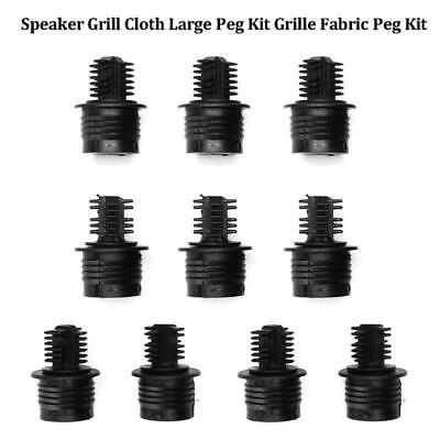 10Pairs ball and socket type speaker grill peg kit plastic screws speaker par HK