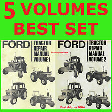 ford 4600 tractor operators manual ebay rh ebay com Ford 4600 Tractor Parts Diagram Ford 4600 Tractor Data