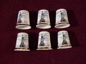 STATUE of LIBERTY~6~Finsbury Bone China~Made in ENGLAND