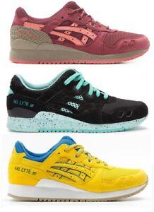 Asics-Gel-Lyte-3-III-Shoes-Onitsuka-tiger-Schuhe-Olimpic-Pack-Schuhe-Limited