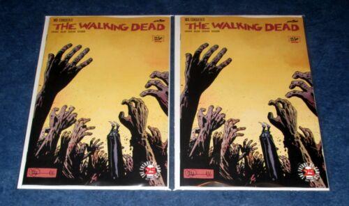WALKING DEAD #163 set (2) 1st print lot iMAGE COMIC ROBER KIRKMAn AMC TV 2017 NM