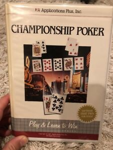 Championship-Poker-1987-Applications-Plus-PC-DOS-Vintage-Game-CIB-Big-Box