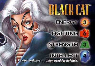 CCG Marvel DC Image Black Cat 4-Grid Character Card OverPower
