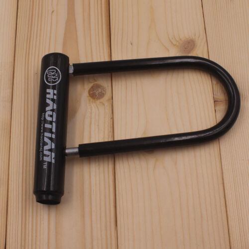 New Bike Bicycle U Lock Bicycle Heavy Duty Combination Anti-Theft Security Lock