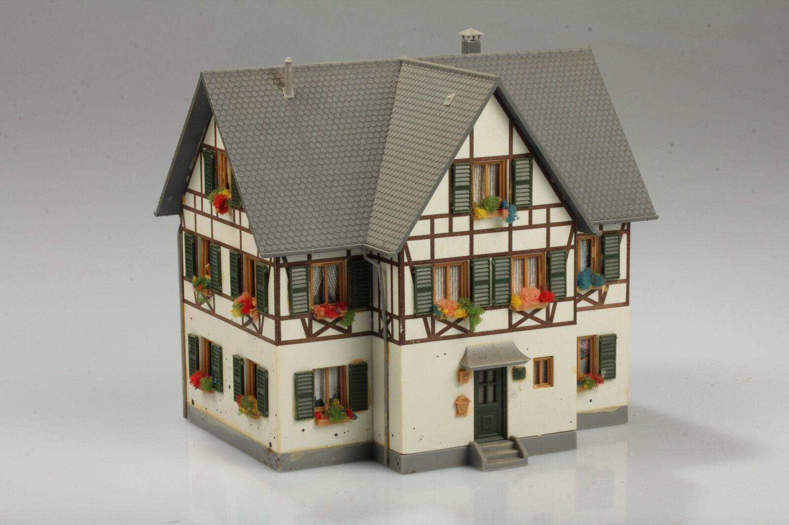H0 Faller Casa  Vivienda en Sur de Alemania  Suciedad Defectos Arañazo