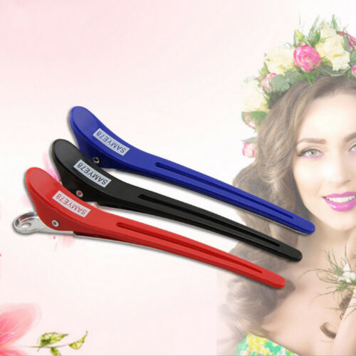 12pcs Hair Clips Durable Hair Clips Duck Clips Sectioning Clips for Barber Salon