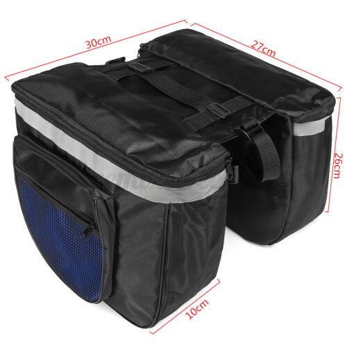 20L Bicycle Bike Rear Seat Saddle Bag Shoulder Handbag Cycling Storage Pannier