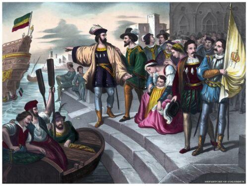 5962.Renaissance man waiting for men in portuguese port.POSTER.Home Office art