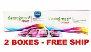 2 PACK Demograss CLASSIC 100% ORIGINAL Clasico Demograss 2 MESES 60 CAPSULES