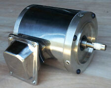 Gator Stainless Steel Ac Motor 1 Hp 1800rpm 56c Tenv Footless 3 Phase