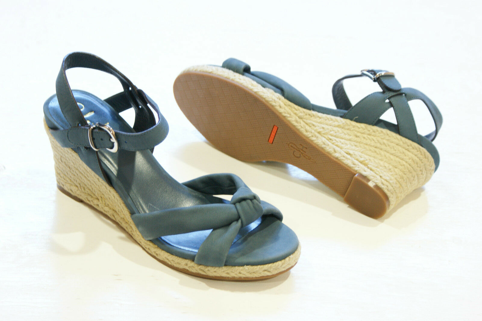 Cole Haan AIR CYNTHIA bluee Wedge Sandals shoes Womens 10 NEW IN BOX