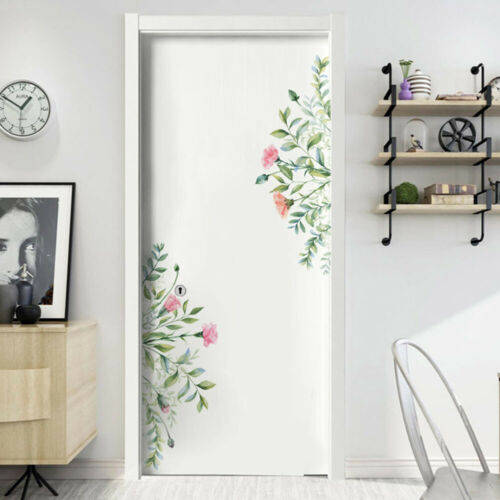 Removable Leaf Flowers Mural Wall Stickers Decal DIY Room-Decor PVC Art Sticker