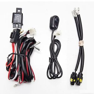 universal fog light wiring harness with switch and h11 socket only rh ebay com Universal Ford Wiring Harness Universal Wiring Harness Diagram
