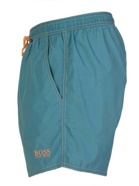 1e71632a1a661 HUGO BOSS LOBSTER SWIM SHORTS QUICK DRY BLUE MENS SIZE SMALL / MEDIUM **NEW