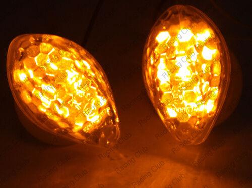LED Flush Mount Turn Signal Light For Honda CBR600RR 2003-12 CBR1000RR 2004-2010