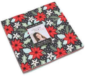 Moda-Little-Tree-Layer-Cake-Precut-10-034-Fabric-Quilting-Squares-5090LC-B09