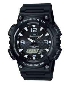 Casio-Watch-AQS810W-1AV-Tough-Solar-Illuminator-Black-Resin-COD-PayPal