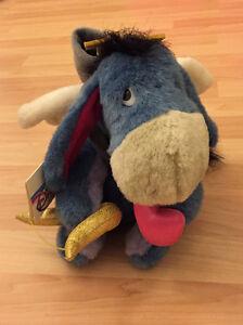"NEW! Disney Cupid Eeyore Plush 10"" Stuffed Animal Winnie The Pooh Valentines Day"