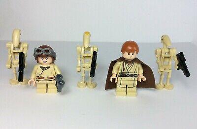 LEGO NEW Star Wars Battle Droid Commander 75092 Minifigure Naboo Starfighter