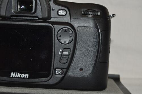 Original Nueva Nikon D80 Trasera Grip De Goma pieza de reparación cubierta FREEPOST vendedor Reino Unido