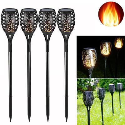 Home & Garden 96 Led Solar Power Path Torch Light Dancing Flame Lighting Garden/outdoor Lamp Lustrous Surface Yard, Garden & Outdoor Living