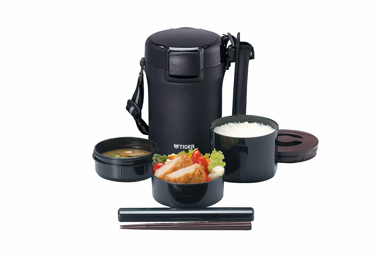 Tiger Thermos Stainless lunch box vide Bento Box, LWU-A172