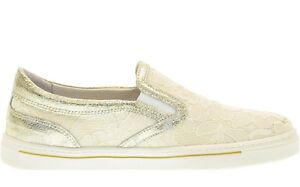 NERO GIARDINI P732181F scarpe donna mocassini sneakers slip on casual pelle