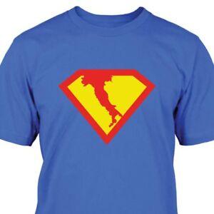 Superman-Italien-T-Shirt