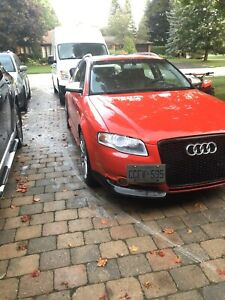 2007 Audi s4 strait piped