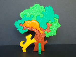 Jouet Kinder Puzzle 3D Arbre chien & chat Variante 613487 Allemagne 1994 NFE92zhA-09165622-476733358