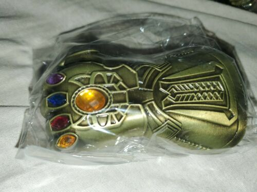 1 Thanos Infinity Gauntlet Keychain Bottle Opener Copper