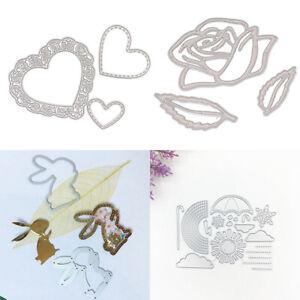 HOT !! Metal Cutting Dies Stencils Craft Scrapbooking Album Paper Card Gift