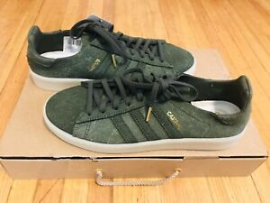 Details about Adidas Originals Campus Crafted Pack Premium England Mens Size 9.5 Green WKit