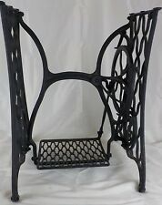 Antique 1889 Singer Treadle Sewing Machine Cast Iron Base Only Industrial Table