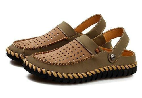 Men/'s Casual Hollow Out Beach Comfortable Slip On Loafer Slippers Sandals Shoes