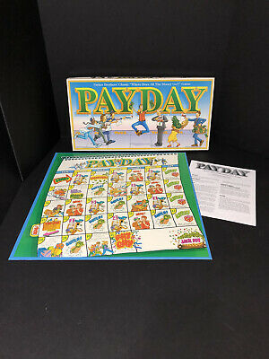 Payday Board Game Replacement Spare Parts Pieces Waddingtons 1994